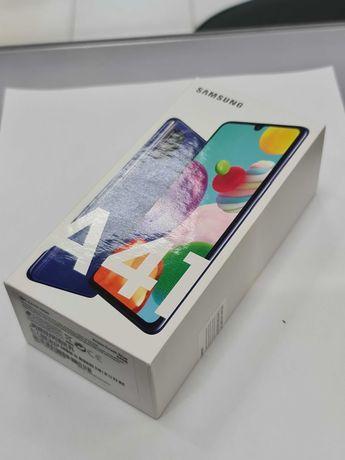 Samsung Galaxy A41 Dual SIM/ 4GB / 64GB/ Niebieski/ Plomba