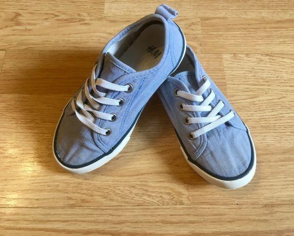 Кеды, мокасины, слипоны для мальчика H&M, размер 28, 17,5 см
