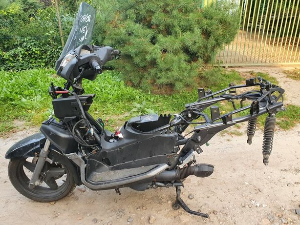 Yamaha x-max 125 dokumenty rama