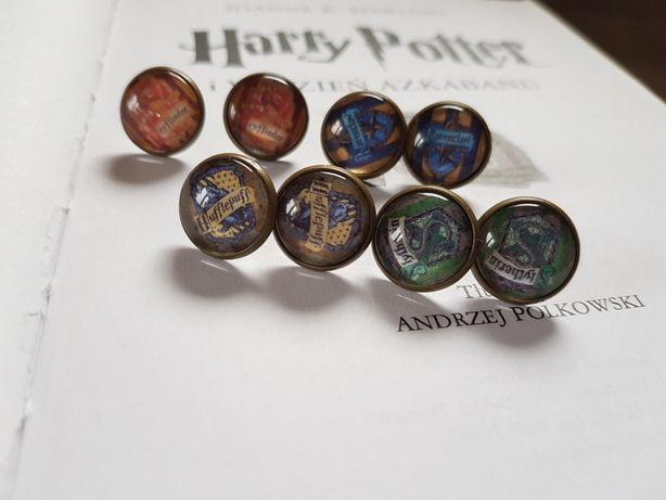 Kolczyki wkrętki Harry Potter