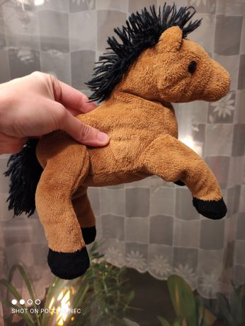 Лошадка коник лошадь игрушка мягкая