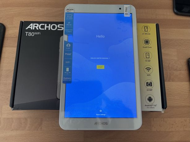 Tablet archos t80 android 10