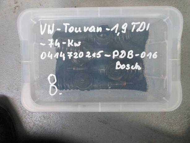 Pompowtryski VW Touran 1,9 TDI Bosch 74 kw