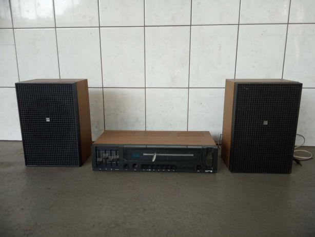 Radio UNITRA Diora amator plus 2 głośniki UNITRA Tonsil