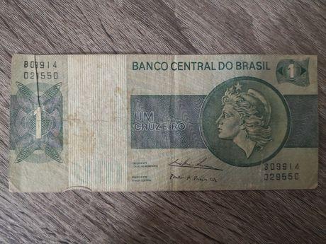 Nota de um cruzeiro - banco Central do Brasil