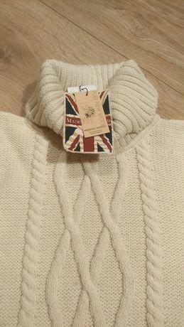 PEREGRINE sweter golf 100% wełny