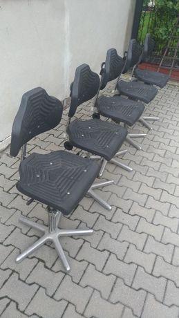 LÖW Fotel elektrostatyczny obrotowy techniczne krzesło ergonomiczne