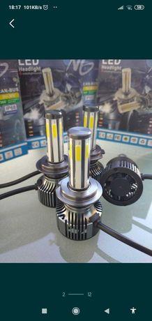 Kit Lâmpadas Led H7 360 compact