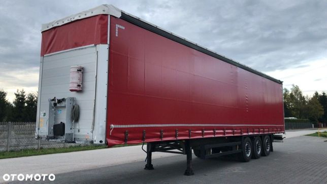 Schmitz Cargobull Firanka Standard / Dwie Osie Podnoszone