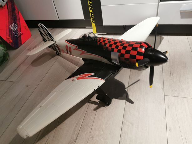 Samolot Rc, zestaw gotowy do lotu!! Sea Fury Racer 1200mm.Nieużywany.