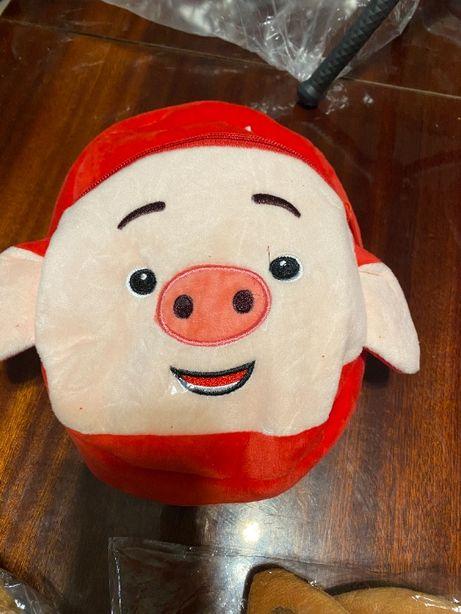 Рюкзак плюшевый детский животные звери игрушка на подарок