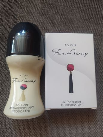 Woda perfumowana Far Away 30 ml i kulka Far Away