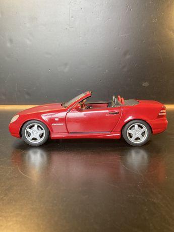 Mercedes slk 230 kompressor AMG 1/18 UT models raro