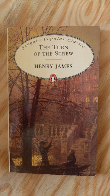 The turn of the screw - Henry James, angielski