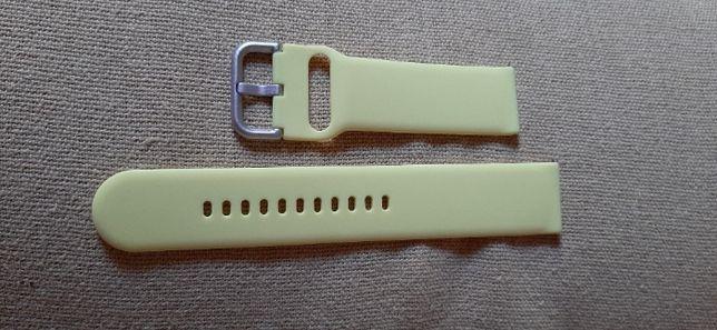 Bracelete de encaixe inteligente 22mm-compativel várias marcas-amarelo