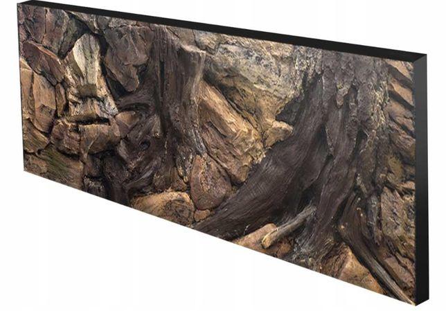 Tło 3D o wymiarach 150x50 do akwarium