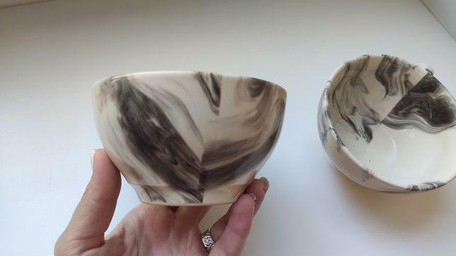 Чашка кружка для чая кофе капучино пиала салатник набор большие
