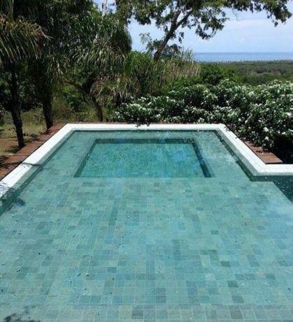 piscinas pedra basalto verde