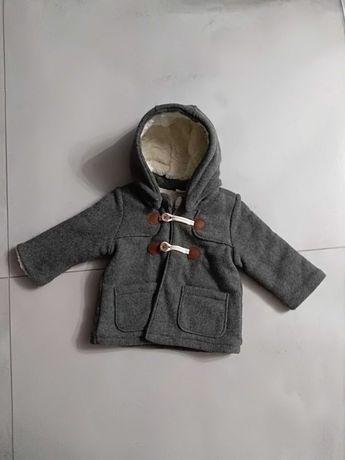 Płaszczyk-kożuszek H&M r.74