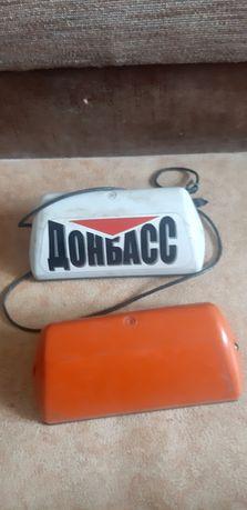 Шашка такси Донбасс/оранжевая обычная.