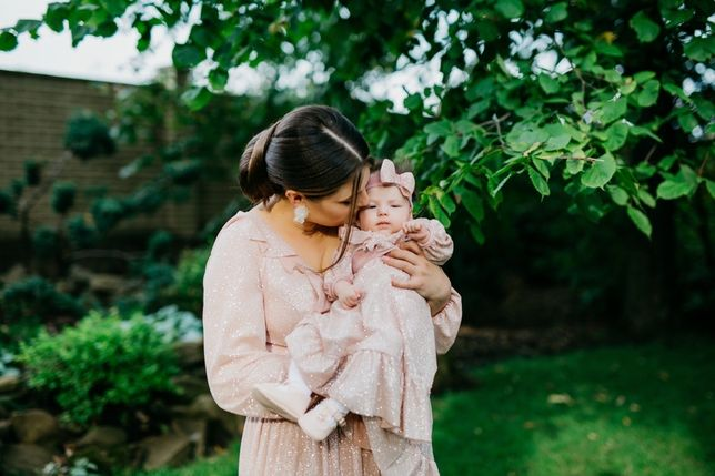 Платье мама + дочька