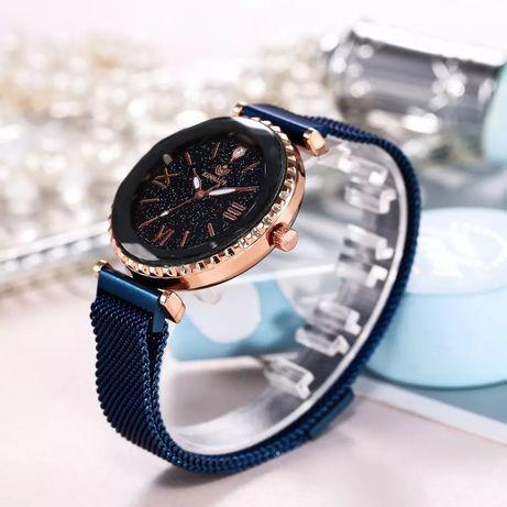 Хит продаж, женские часы с магнитной пряжкой, звездное небо, повседнев