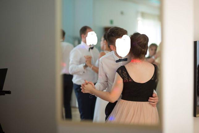 Sukienka koronkowa z tiulem - Sinsay