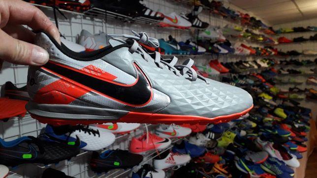 Сороконожки Nike Tiempo Legend 8 Academy TF AT6100-906 Оригінал