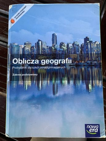 Oblicza geografii podręcznik nowa era zakres podstawowy + płytka