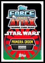 Force Attax - Star Wars - Cartas Continente