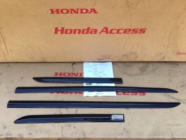 Honda CRV CR-V IV 2012- Listwy Drzwi Czarne NOWE Komplet