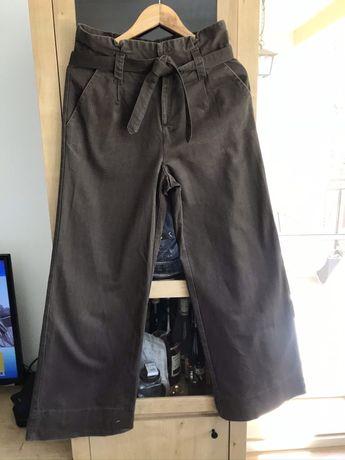 Spodnie szwedy dzwony eleganckie rozm 36 Pull and bear
