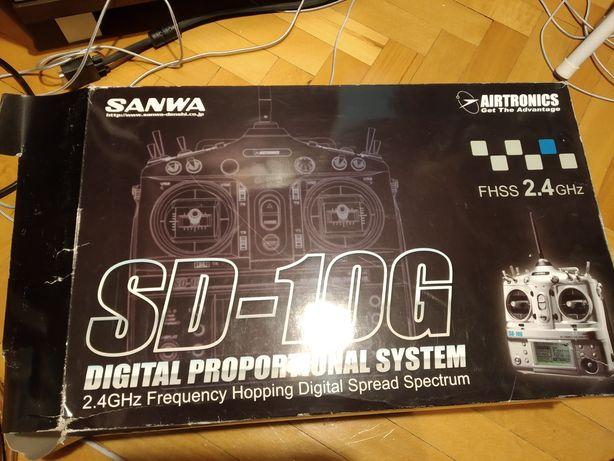Aparatura SANWA SD-10G 10 kanałów