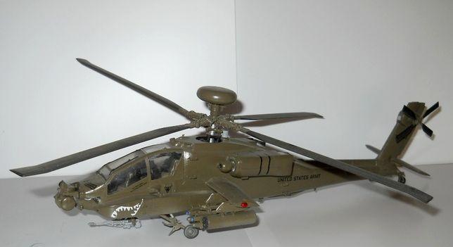 Model śmigłowca / helikopter - AH64 APACHE (1:48) - gotowy / sklejony