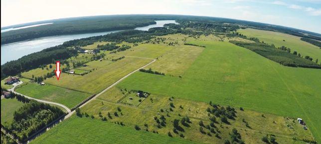 Działka budowlana nad jeziorem w miejscowości Dołgie koło Szczecinka.