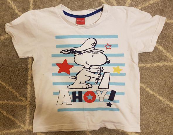 Koszulka chłopięca rozmiar 128 Peanuts