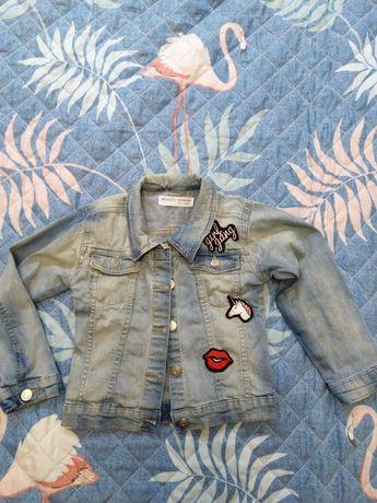 Джинсовая куртка Minoti р. 104-110