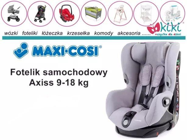 Fotelik samochodowy Maxi-Cosi Axiss 9-18 kg authentic black
