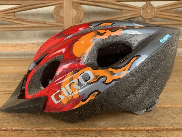 Kask rowerowy dziecięcy GIRO Flurry roz. 50-57
