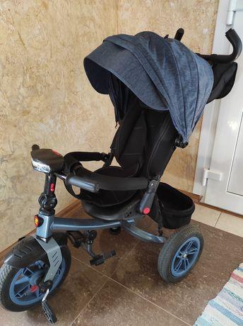Детский велосипед коляска