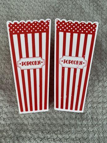 Plastikowe opakowanie na popcorn