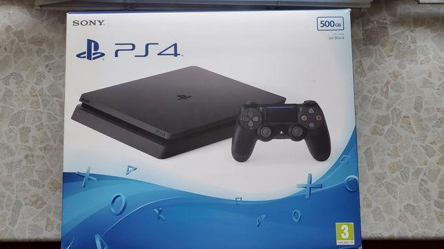 Sony Playstation 4 Slim 500GB + 4 игры