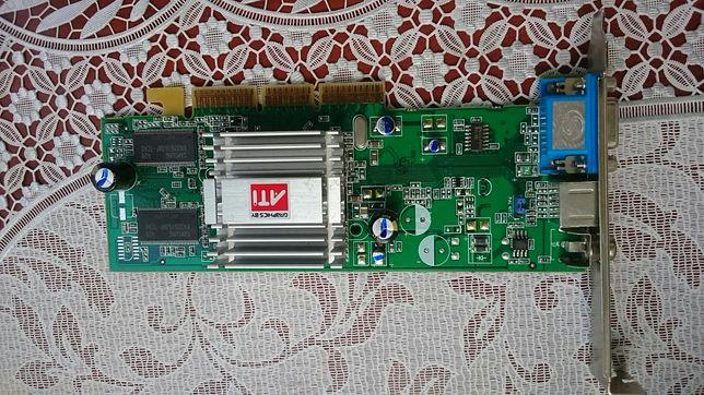 Видеокарта AGP ATI Radeon 9200SE 64M DDR TVO