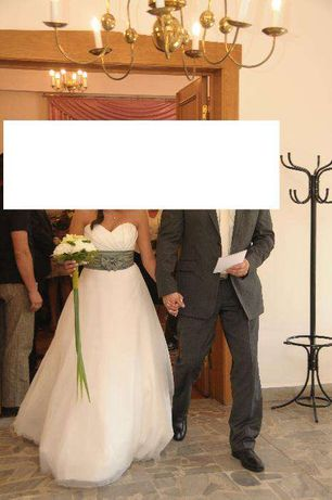 Sukienka Suknia Ślubna 38 M Gratisy