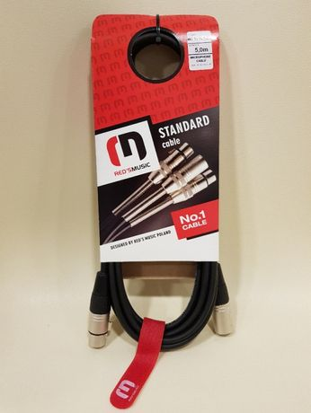 Kabel mikrofonowy Red's Music 5 m