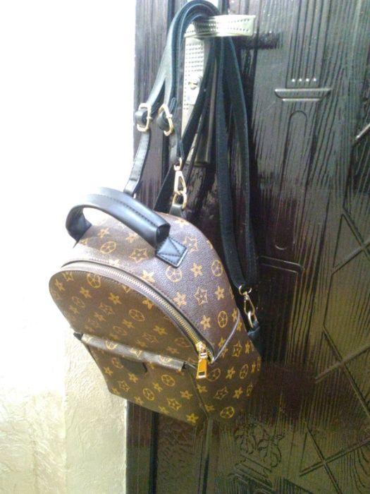 Рюкзак LV mini 28x23x14 см , б/у Долинская - изображение 1