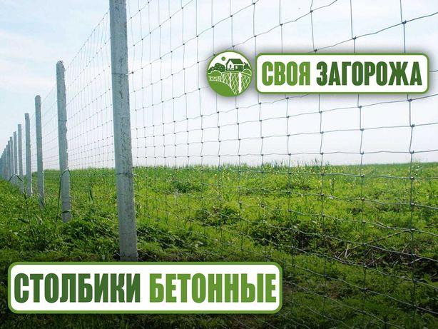 Бетонные армированные виноградные столбики б/у на забор рабица саженцы