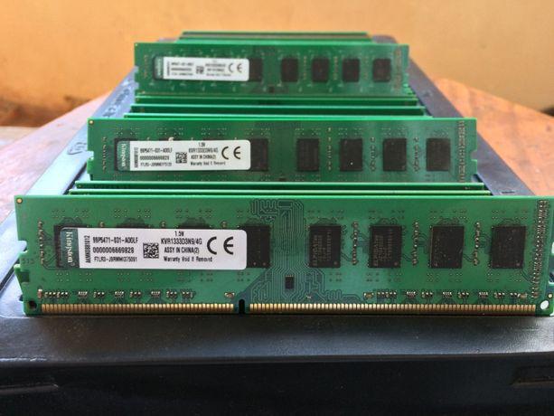 Оперативная память DDR3 4GB 1333mhz 10600U для AMD