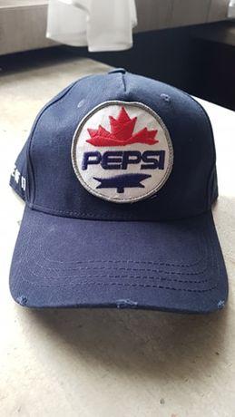 Czapka DSQUARED Pepsi DSQ bejsbolówka granatowa D2 wysyłka PL