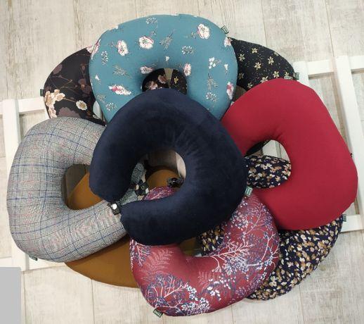 Подушка под шею дорожная EKKOSEAT. Для путешествий и отдыха.